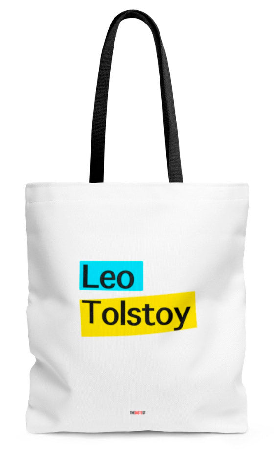 Tolstoy Tote bag - Gifts for readers