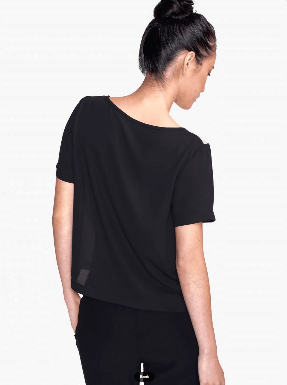 Apples Chiffon Top - Women Blouse - Modern Clothing-TheGretest