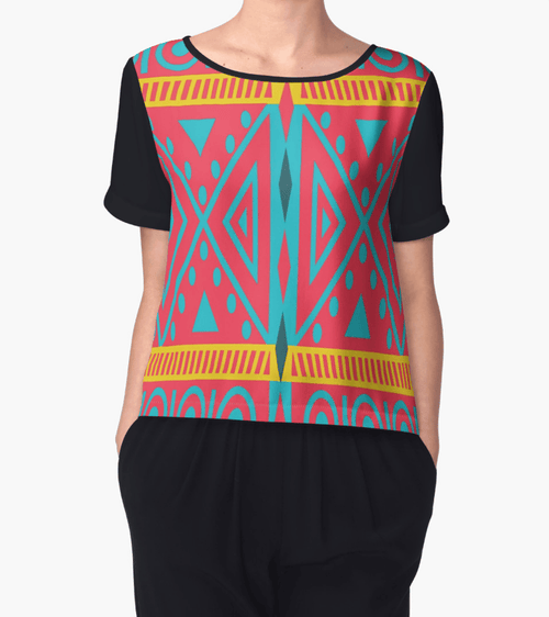 Tribal Chiffon Top