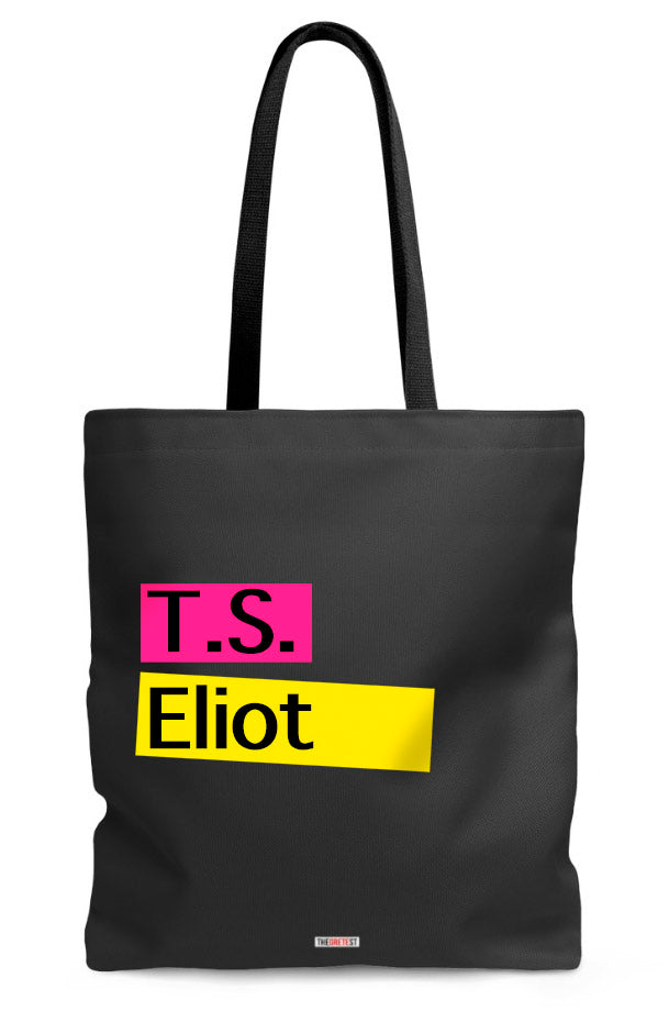 T. S. Eliot Tote bag