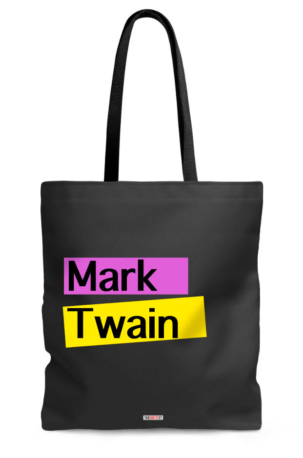 Mark Twain Tote bag - Gifts for readers