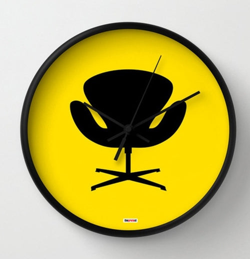 Modern Chair Wall Clock