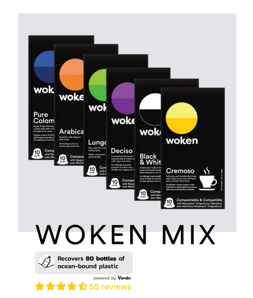 Every Woken Mix Purchase now has Ocean Clean up!