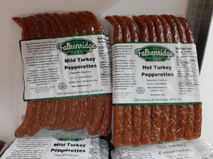 Turkey Pepperettes (10 pack/280g)