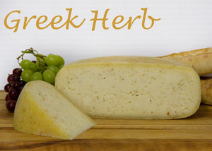 Vasey Sheep Cheese Greek Herbs 200g