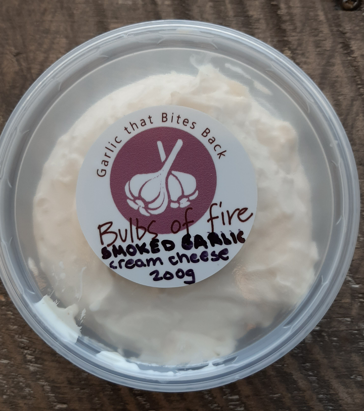 Smoked garlic cream cheese 200g