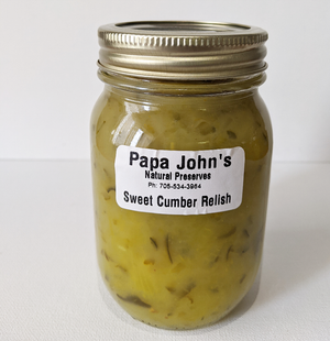 Sweet Cucumber Relish