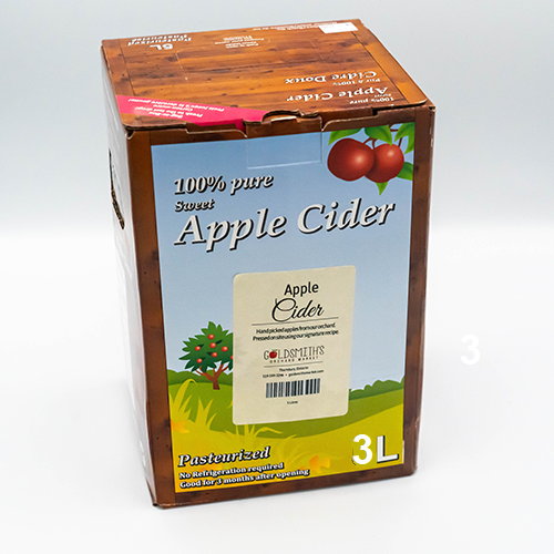 Apple Cider 3 Ltr