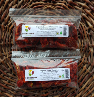 Smoked or Dried Tomatoes 50g