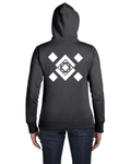 Women's Zip-up Hoodie - Vortex Apparel