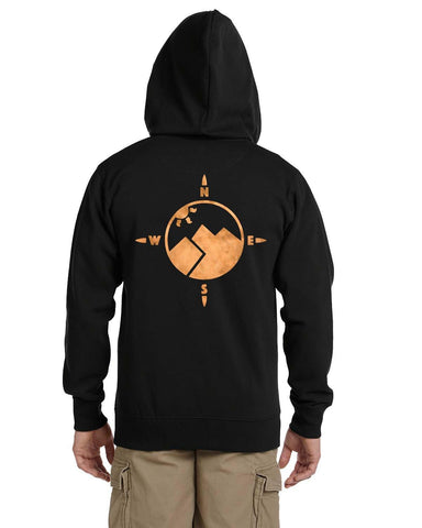 Wander Hoodie Zip Up [Nightline] - Vortex Apparel