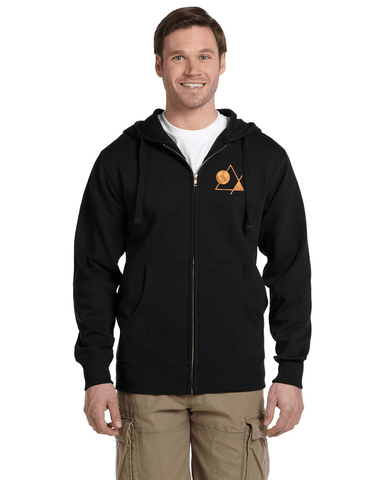 Men's Zip-up Hoodie [Nightline] - Vortex Apparel