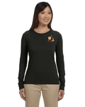 Women's Long Sleeve Tee [Nightline] - Vortex Apparel