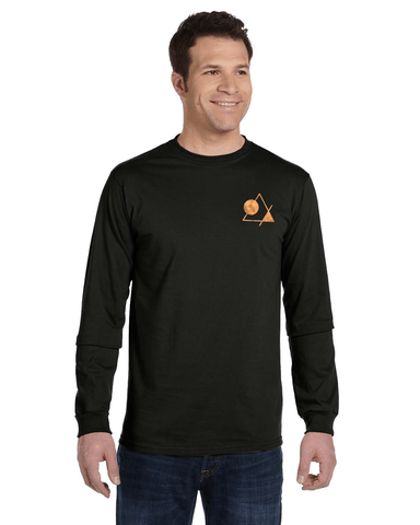 Men's Long Sleeve Tee [Nightline] - Vortex Apparel