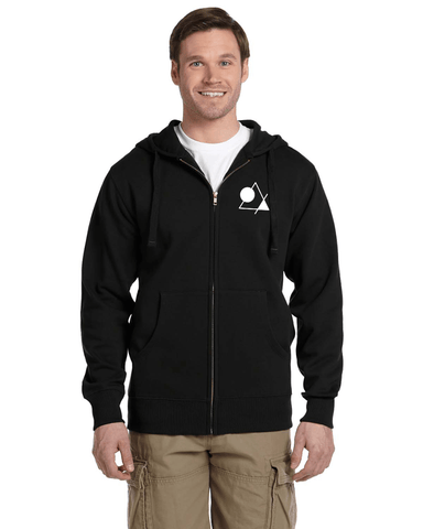 Men's Zip-up Hoodie - Vortex Apparel