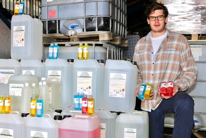 Aberdeen Based Oil Worker Made Redundant Turns His Skills to Hand Sanitiser to Solve Supply Shortage
