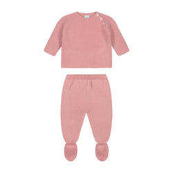 ROSA PALO SIGNATURE NEWBORN KNITTED WING SET