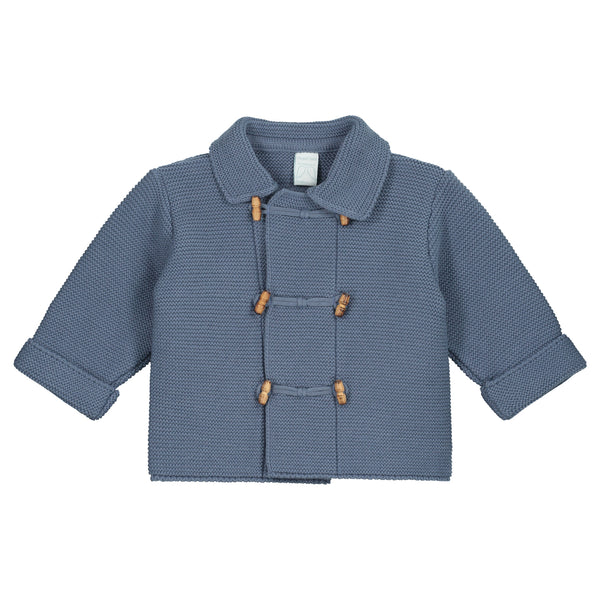 AZAFATA BLUE KNITTED CARDIGAN