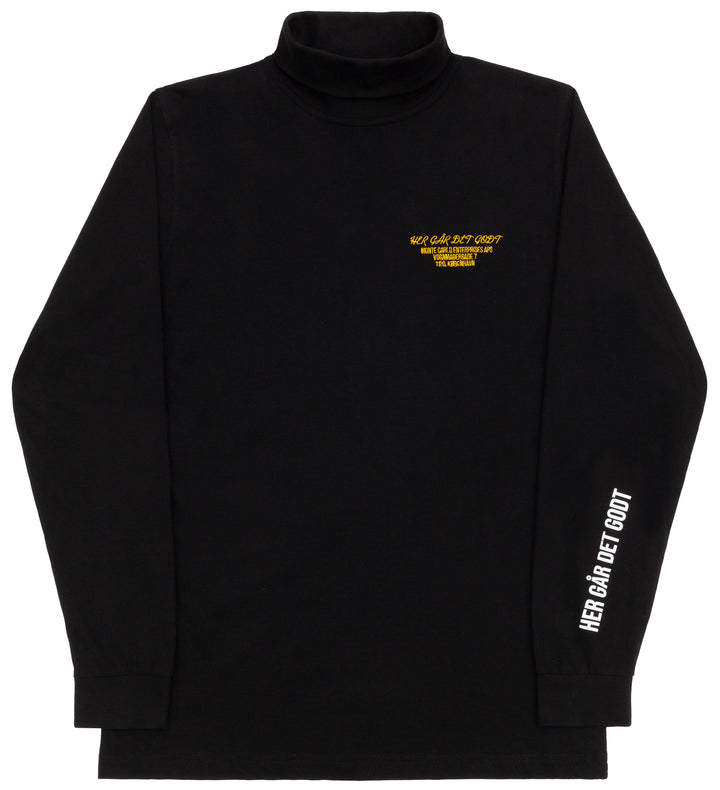 HGDG SNEEZE TURTLENECK BLACK