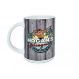 Hogan's Hangout Collectible Beach Wood Mug