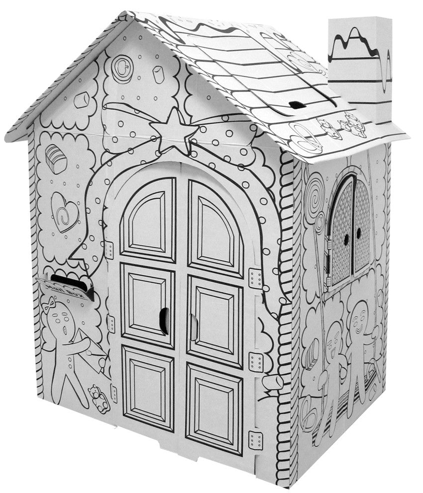 Colouring book for adults singapore - Little Gingerbread House