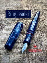 Load image into Gallery viewer, RingLeader 1315 in Omas Blue Swirl