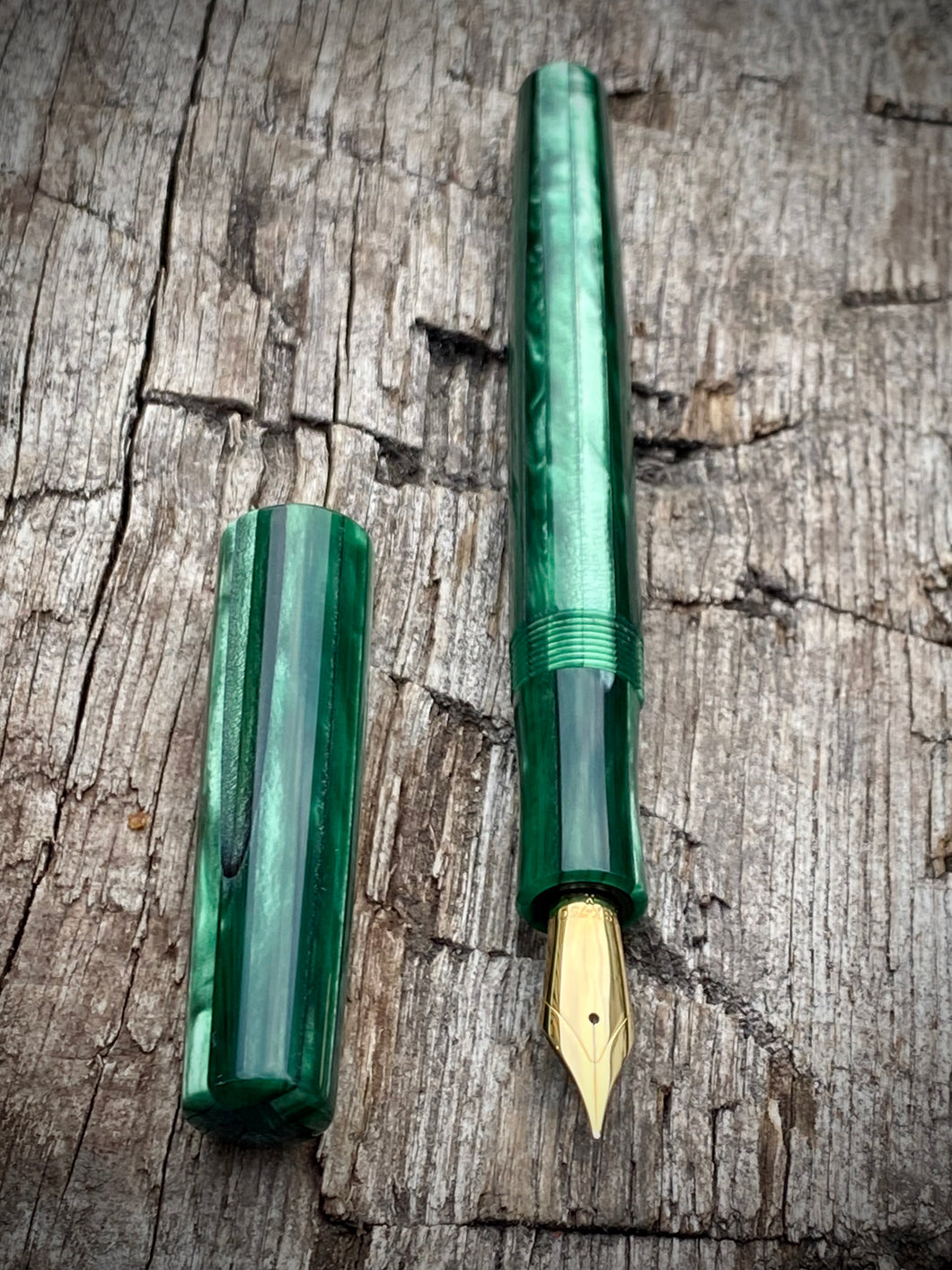 TroubleShooter 1313 Green Pinstripe