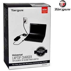 Targus 90W Universal Laptop Charger 9 Tips Acer Dell HP Toshiba