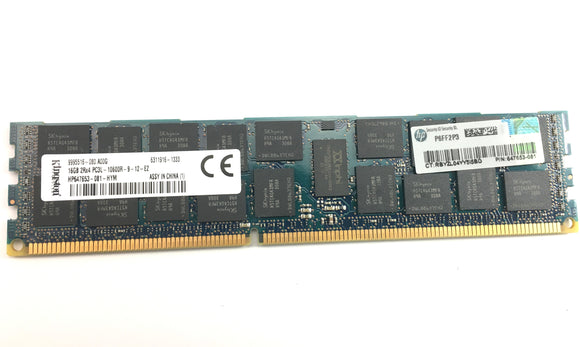 16GB DDR3 ECC Server Memory