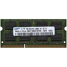 2GB DDR3 SO-DIMM Laptop Memory