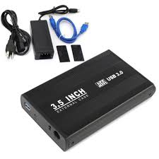 3.5-inches SATA HDD Hard Drive Enclosure - USB 3.0