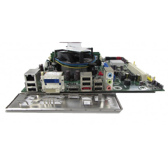 Motherboard core I5 CPU + FAN