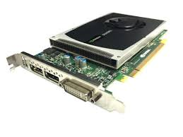 Nvidia Quadro 4000 Graphc Card 1GB