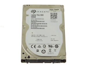 "500 GB 2.5"" SATA Hard Drive"