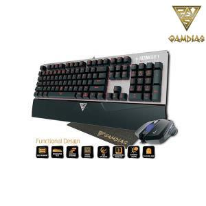 GAMDIAS Hermes E1A Mechanical Gaming Keyboard, Optical Mouse and Mouse Mat