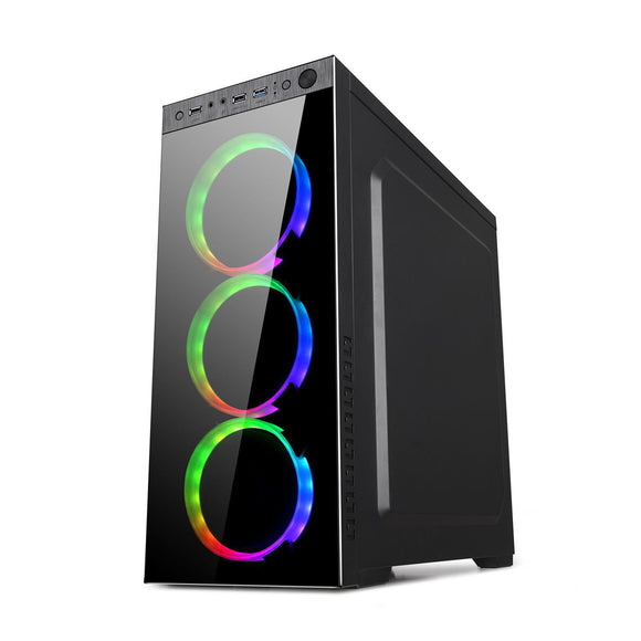 Gaming PC Tower Core i7-6700 16gb Radeon RX580