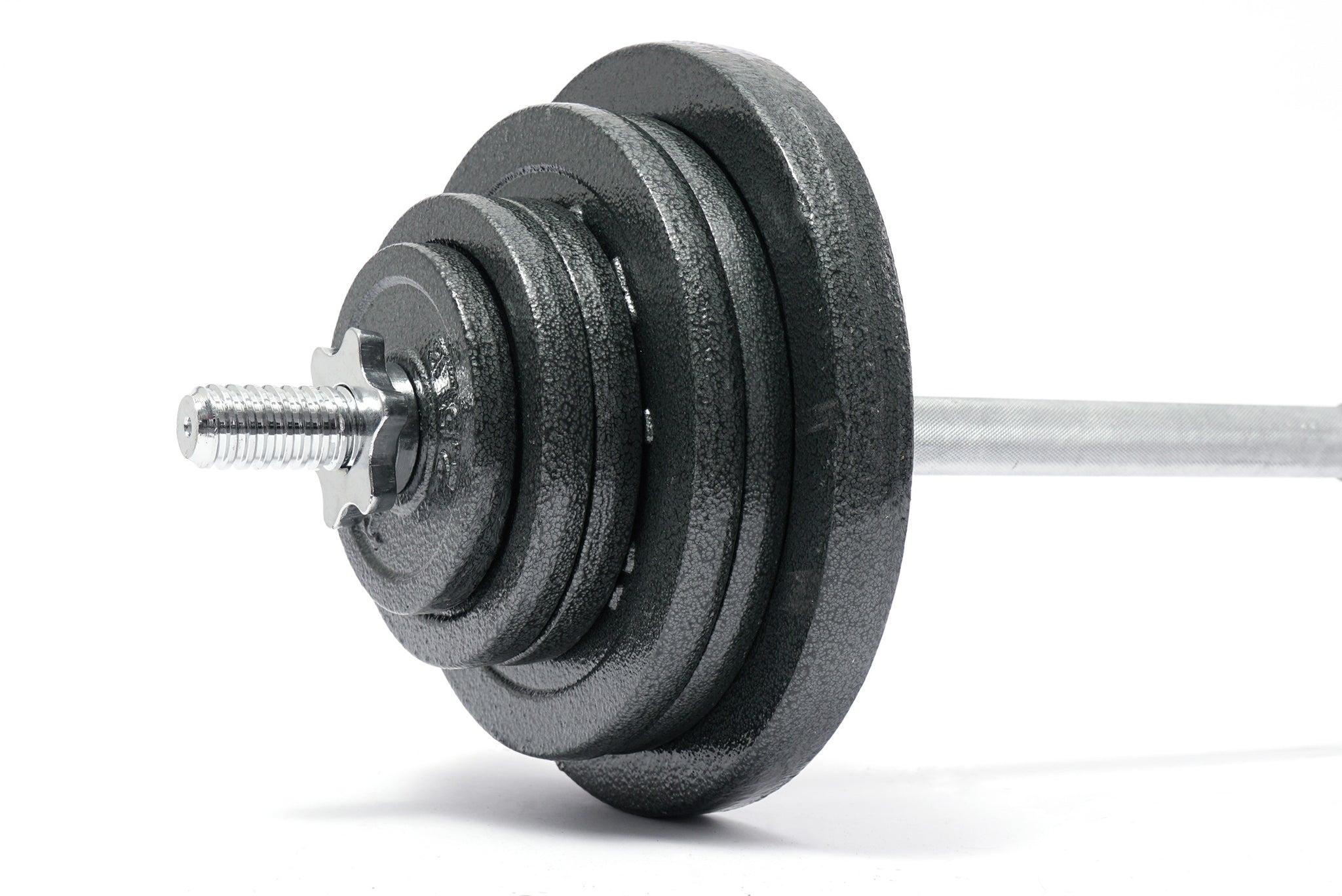 "Adjustable 133 LBS Barbell Set + 60"" Barbell"