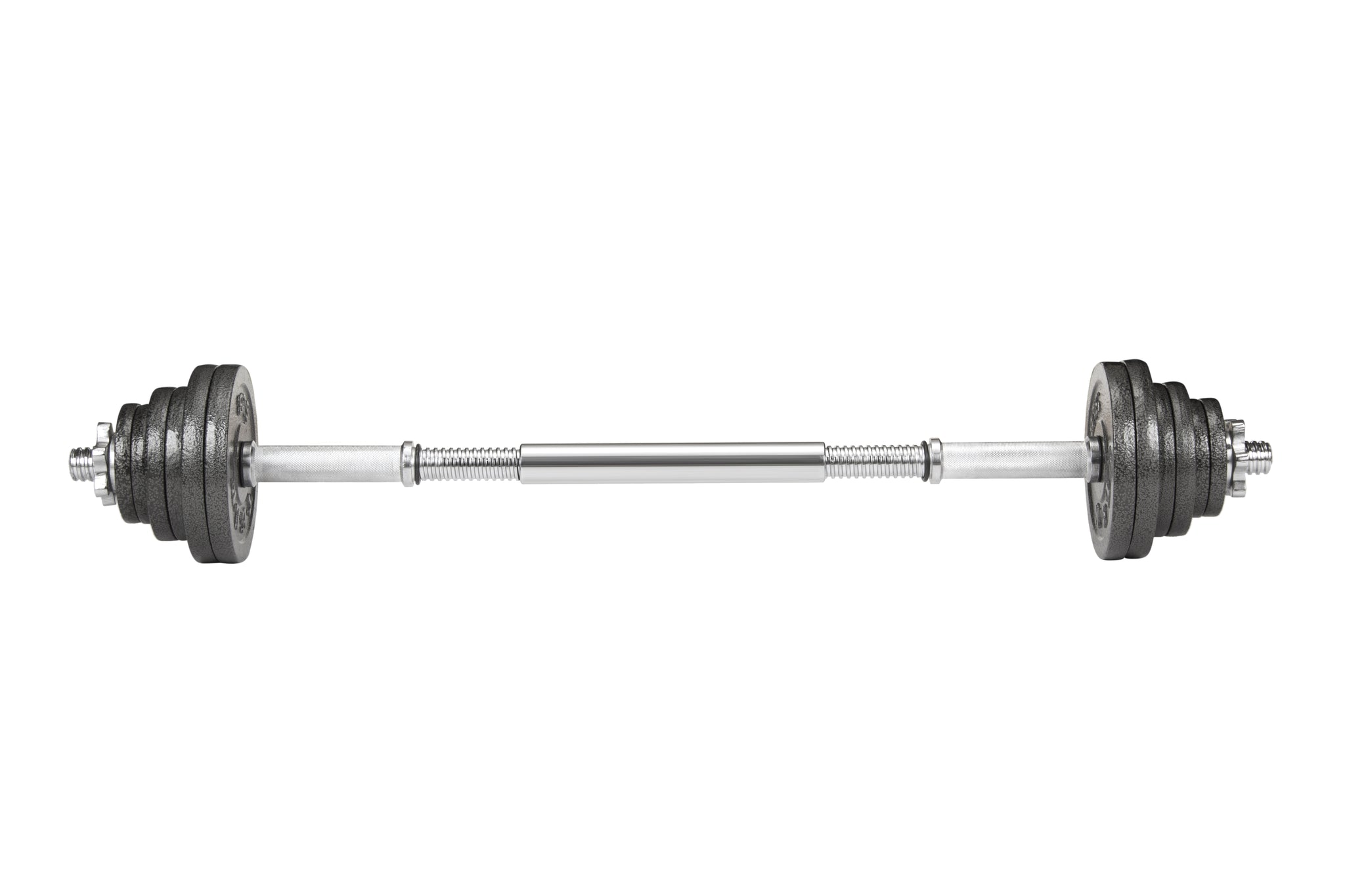 "10"" Chrome-Finished Section of Barbell Rod"