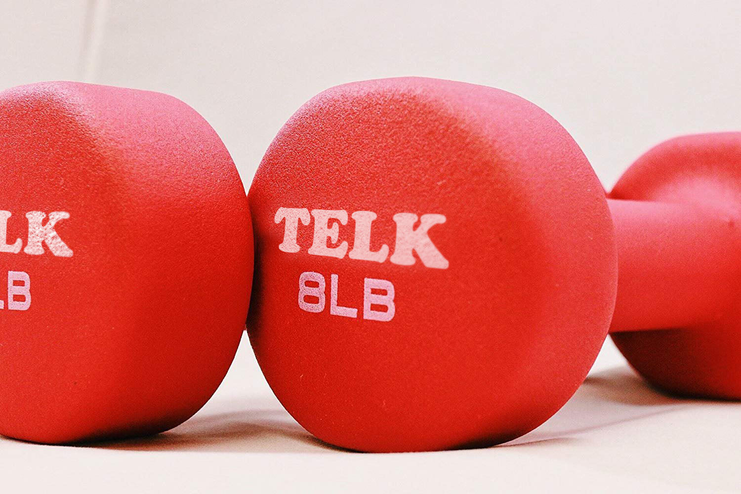 Neoprene Coated Deluxe 8 Lb Hand Weights