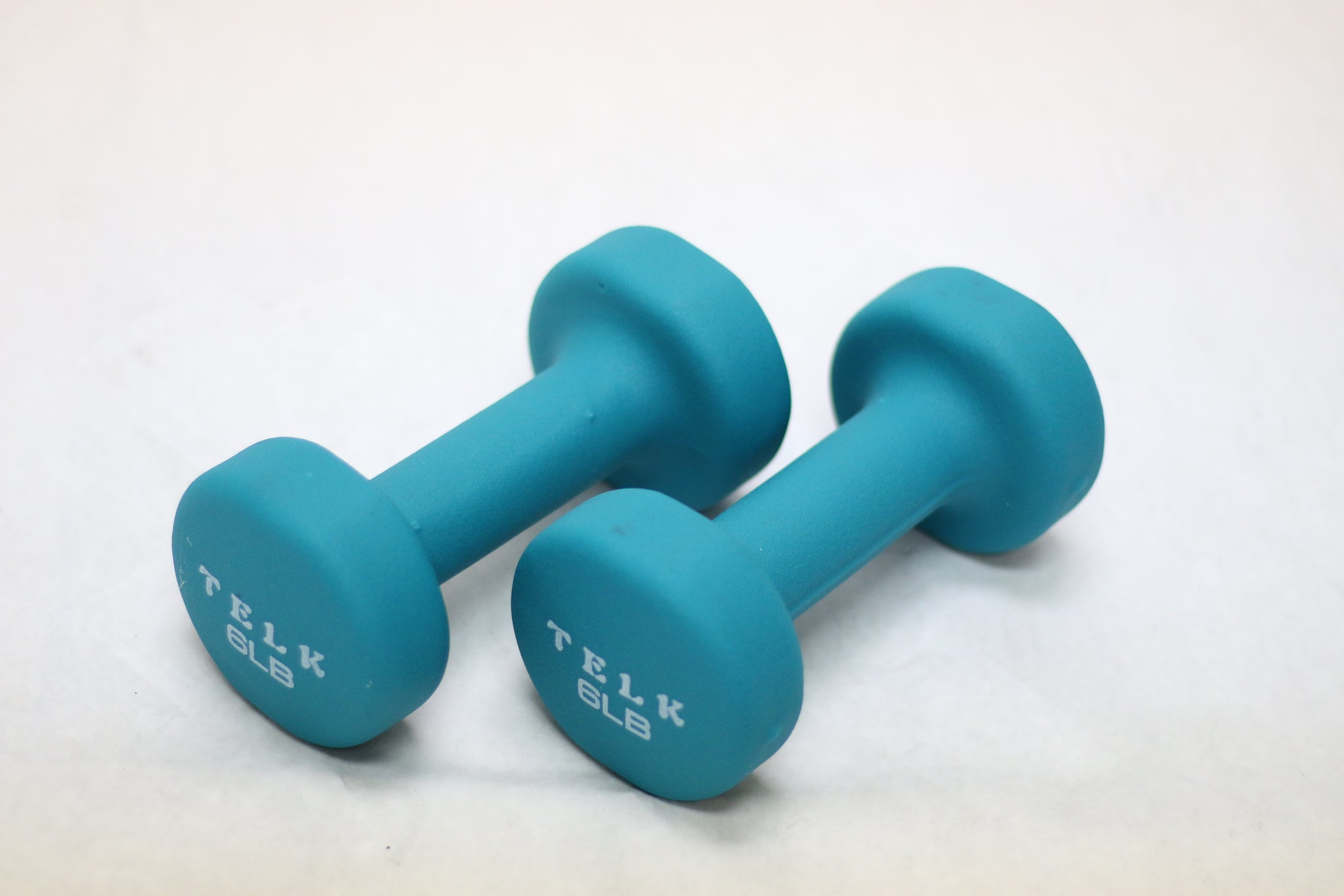 Neoprene Coated Deluxe 6 Lb Hand Weights