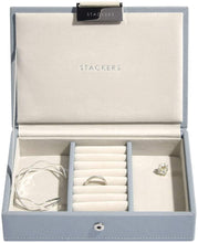 Load image into Gallery viewer, Stackers Blush Pink Mini Jewellery Box Lid - Alldica