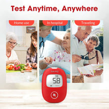Load image into Gallery viewer, Diabetes Test Kit 2019 Upgrade with Voice Reminder and Light Warning - Alldica