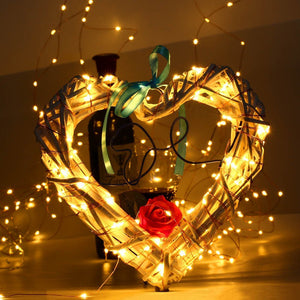 1M 2M 3M 5M 10M Copper Wire LED String lights Holiday lighting Fairy Garland For Christmas Tree Wedding Party Decoration - Alldica