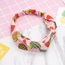 Load image into Gallery viewer, Fashion Women Girls Summer Bohemian Hair Bands Print Headbands Vintage Cross Turban Bandage Bandanas HairBands Hair Accessories - Alldica