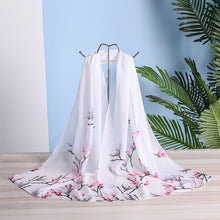 Load image into Gallery viewer, Women Spring Summer Silk  Chiffon Scarves - Alldica