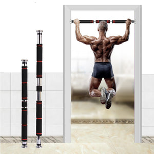 Power Guidance Door Horizontal Bars 100KG Accept Home Gym Workout Exercise Fitness Equipment Training Crossfit Sport Pull-up - Alldica