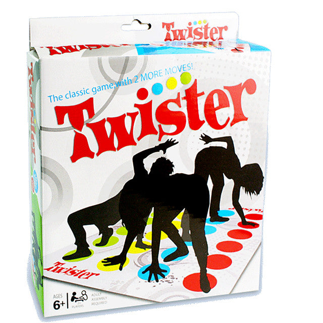 Board Twister Game Educational Toy Professional Party, Novelty Kid's ,Adults Toys Gifts - Alldica
