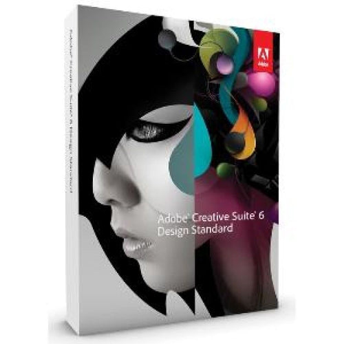 Adobe Design Standard CS6 Windows Lizenz , kein Abo, Vollversion