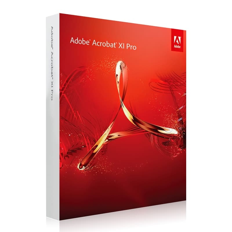 Adobe Acrobat XI Pro Windows Lizenz, kein Abo, Vollversion