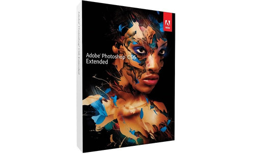 Adobe Photoshop CS6 Extended Windows Lizenz, kein Abo, Vollversion